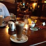 great food and Irish coffees