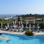 Panoramic view from reception balcony