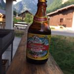 Balcony beer Chalet Beziere