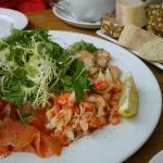 seafood platter £19.95