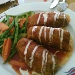 Rollos de pollo