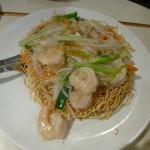 Prawns Chow Mein