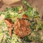 Nasty salmon Caesar salad