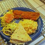 Chile relleno with tacos