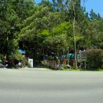 panoramic view of the entrance