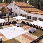 Vista Aérea del Restaurante El Bohio