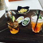 Es Ram cocktail