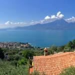 Aussicht vom nahe gelegenen Albisano