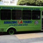 Amazing LA Tours bus