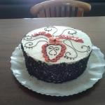 Hand Made Strawberry & Cream Cake