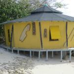Yurt Falay at low tide