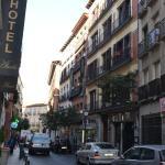 Hotel liegt Zentral in einer Seitenstraße