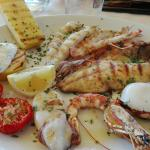 Grigliata di pesce misto...OTTIMA!!!!!!