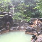 川べりの露天風呂