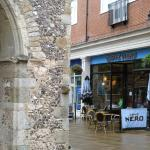 Caffe Nero at the Clocktower Square, St George's St, Canterbury