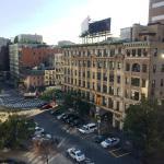 View from room 623 (top floor)