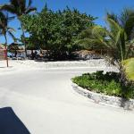The Beach Stop for the Coba section of the beach strip