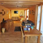 The lounge and breakfast area also has a small private kitchen which is very convenient