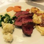 Erneut ein ausgesprochen gutes Essen, Chateaubriand für zwei, am 30.8.2015