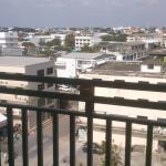 The veranda!
