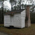 Former slave cabin in Friendfield Village - Hobcaw Barony