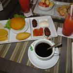 Desayuno en Cartagena