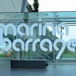 Marina Barrage Entrance