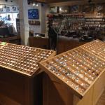 Inside Trout Bum 2 fly shop
