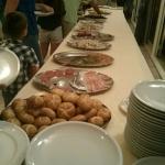 Tavola del buffet