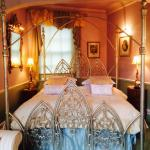 The Queen Charlotte Suite - looks fit for a princess and very comfy