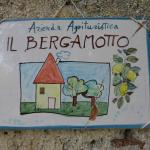 A graphic demonstration of what Il Bergamotto is all about!