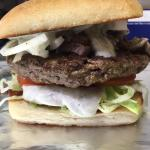 Gyro Burger! A weekly creation yum