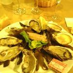 Huîtres du menu à 19 €