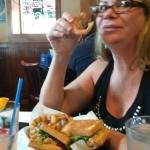 Does Nanc look overwhelmed with all that deliciousness?