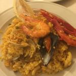 Delicious Seafood Paella