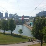 Montreal vieux port , circuit gilles Villeneuve