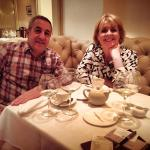 Mr & Mrs Katz enjoying there evening at Bhoomi