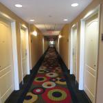 Light, colorful hall