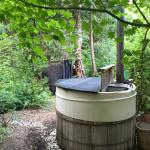 Hot tub and outdoor shower - not to be missed.