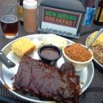 Piggyback Barbeque Foto