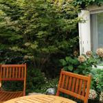 Garden Backyard - Smoking and Relaxing area