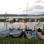 accesso al lago con barche