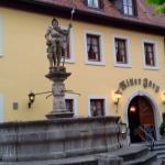 Eingang des Hotels