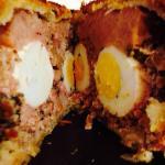 pork and egg pie