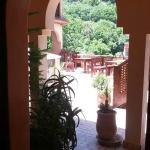 Upper terrace.