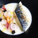 Maquereaux marinés et légumes pickles