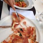 Пицца и нокки