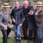 Dracula show at whitby abbey.Brilliant day.