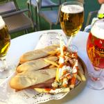 Beer with free tapas