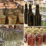 A extensive range of kilner jars